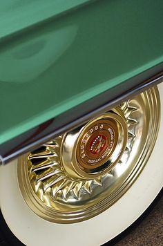 1956 Cadillac Eldorado Tire Photograph