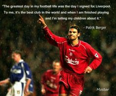 @Liverpool FC legend Patrick Berger #LFC