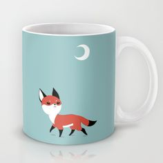 Moon Fox Mug