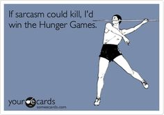 hunger games? lol