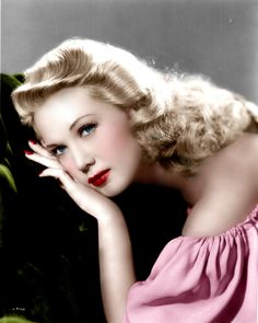 Louise Allbritton (Color by Brenda J Mills)
