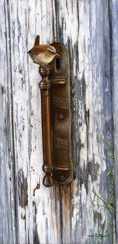 Brass Handle - Wren...By Jeremy Paul