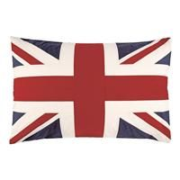 Union Jack Pillow- would be great for a sofa