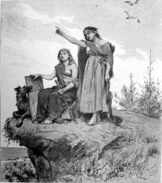 I nordisk mytologi var Groa en völva som försökte bota Tor efter hans kamp mot Rungner genom att sjunga galder över honom. Maka till jätten Aurvandil. Foto: I nordisk mytologi var Groa en völva som försökte bota Tor efter hans kamp mot Rungner genom att sjunga galder över honom. Maka till jätten Aurvandil.