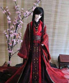 Ancient Chinese Emperor Costume for Men Hanfu, Larp, Nativity Costumes, Chinese Emperor, Chinese Dolls, Oriental Dress, Barbie, Asian Doll, Fantasy Dress