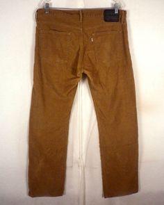 euc Levis men's 511 skinny Khaki Beige Stretch Denim Jeans 32 X 30 ...