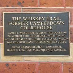 Australia  where we celebrate people who defied the law.  Especially if it involved alcohol.  #australia #victoria #camperdown #alcohol #history #lol by gwyntt