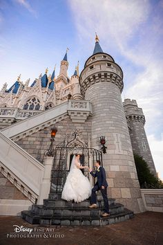 Add a little magic to one of the happiest days of your life with Disney's Fairy Tale Weddings & Honeymoons. Photo: Amanda, Disney Fine Art Photography