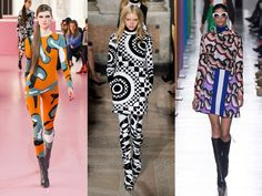 2015 Fall Winter Fashion Trends Graphic Designs