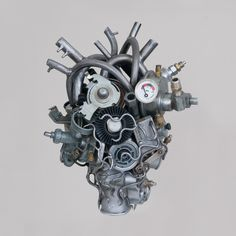 Mechanical heart ... #teodosio #heart #trashart #autoparts #sculpture #art #handmade #creative #recycled #recycledart #art