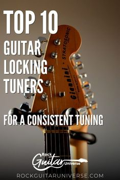 If you are sick that your guitar doesn't stay in tune then you need to upgrade your turning machines into locking tuners. check these top 10 guitar locking tuners for a consistent tuning #guitar #lockingtuners Play Guitar Chords, Acoustic Guitar, Teach Yourself Guitar, Electric Guitar Kits, Custom Bass, Guitar Lessons For Beginners, Guitar Pins, Guitar Accessories, Vintage Guitars