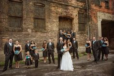 #wedding photography | #urban bridal party
