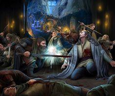 Death of Thingol by steamey on DeviantArt