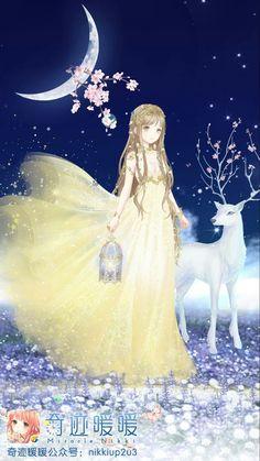 Anime Angel Girl, Anime Girl Pink, Girls Anime, Anime Art Girl, Fantasy Princess, Moon Princess, Anime Princess, Chica Anime Manga, Kawaii Anime