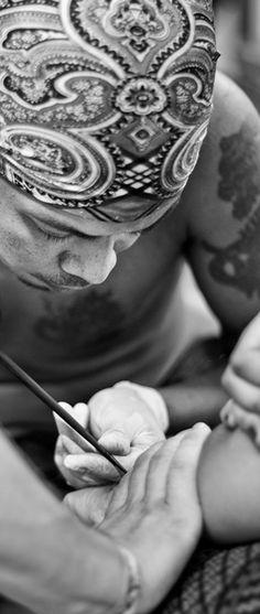 #Thailand #bamboo #tattoo
