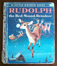 1958 - Golden Book - Rudolph the Red Nosed Reindeer was a big seller toward the end of the year