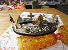 Coronet for an SCA duchess.  https://www.facebook.com/evajohanna.arts.crafts
