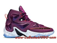 4b223d1a6ad Nike Lebron 13 Written In The Stars 807219-500 Chaussures NIke Basket Pas  Cher Pour