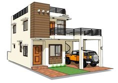 House Design Plans Signed and Sealed and Ready to Use for Building Permits, New House Construction or Housing Loan Requirement House Roof Design, Two Story House Design, Modern Small House Design, 2 Storey House Design, Bungalow House Design, Philippines House Design, Philippine Houses, House Construction Plan, Model House Plan
