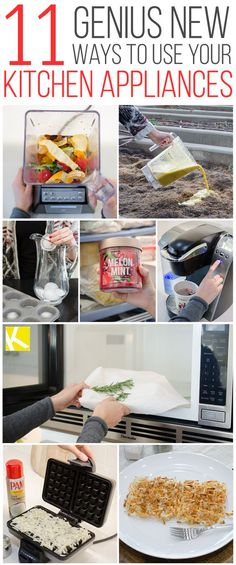 11 Mind-Blowing Kitchen Appliance Hacks You Must Try: