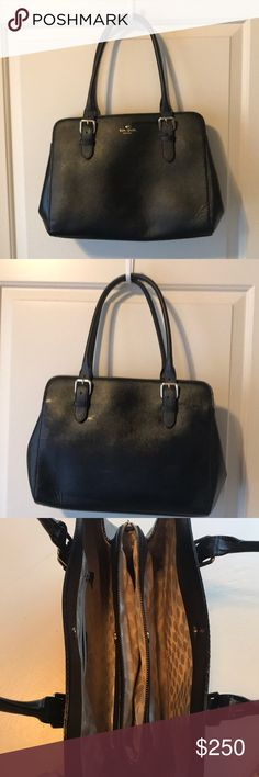 Kate Spade black bag Like new! Hardly used kate spade Bags Shoulder Bags