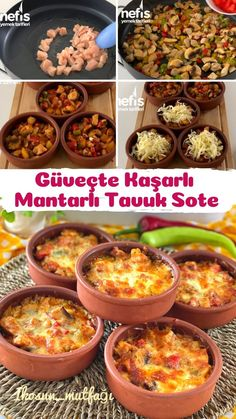 Turkish Recipes, Ethnic Recipes, Turkish Delight, Mushroom Chicken, Good Smile, Iftar, Live Long, Casserole, Meal Planning