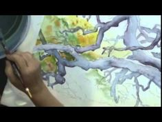 How to Paint a Tree: Texture in Watercolor Landscapes