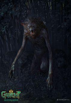 Alpha Werewolf, Bartlomiej Gawel on ArtStation at https://www.artstation.com/artwork/Oel8y