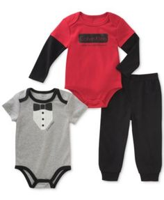 Baywell Infant Baby Boy Bodysuit Long Sleeve Fox Cute Print Hoodie Outfit Clothing Set