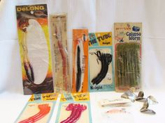 #Vintage Lot of Mixed #Fishing Lures Metal Spinners Calypso Worm Delong Kilrs http://www.ebay.com/itm/Vintage-Lot-of-Mixed-Fishing-Lures-Metal-Spinners-Calypso-Worm-Delong-Kilrs-/381337197087?ssPageName=STRK:MESE:IT&utm_content=buffer78add&utm_medium=social&utm_source=pinterest.com&utm_campaign=buffer #gotvintage