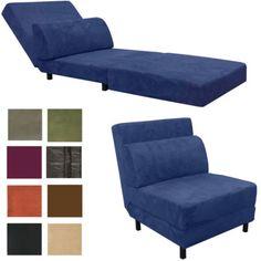 Euro Convertible Futon Chair