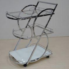 Casabianca Furniture - Siena Kitchen Cart - CB-D210Cart