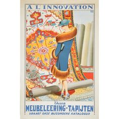 Affiches Marci art deco poster