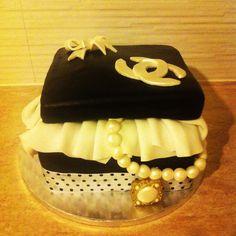 Chanel cake Chanel Cake, Cakes, Desserts, Food, Tailgate Desserts, Deserts, Cake Makers, Kuchen, Essen
