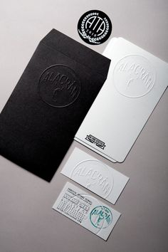 Self promotion idea. When directly promoting yourself/biz/brand, a simple but elegant presentation works well.  Designed by Sociedad Anonima