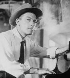 "Hoagy Carmichael - singer, songwriter - My favorite song - ""Stardust"" sung by Hoagy himself."