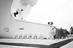 skateboarding meets artsy photography