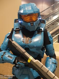 Halo master chief female #C2E2 Comic Expo