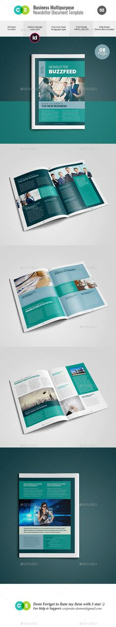 Pages Daily Newspaper  Newsletter Templates Newspaper And