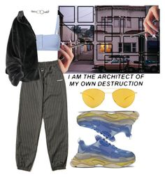 """Untitled #759"" by chandele ❤ liked on Polyvore featuring Solid & Striped and Mykita"