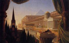 Cole_Thomas_The_Architect-s_Dream_1840