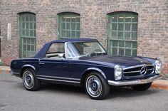 """""""SL"""", synonymous with """"Gullwing"""" and both pure Mercedes-Benz. The W113 Chassis or """"Pagoda"""" cars as they are often referred to were produced from 1963-1971. They are considered the true start of the high volume SL as we know it today, and more importantly the last of the hand built Mercedes-Benz. As such they offer a sophisticated driving experience compared to their contemporaries, and are cherished today amongst the collector car community as a must-have and a very sensible investment. ……"""