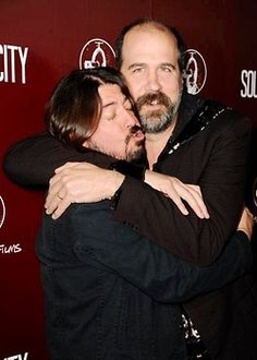 """Krist is a very lovely, gentle, sweet, and huge man. If he's your friend, he's your friend for life."" -Dave Grohl"