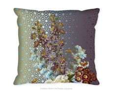 Hendrik' Design Kussenovertrek On Purple vind je hier Decor, Pillows, Interior, Throw Pillows, Tapestry, Interior And Exterior, Home Decor