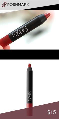NARS Velvet Matte Lip Pencil - DELUXE SAMPLE Cult favorite! Matte lipstick in Cruella, the perfect matte red shade. Brand new. Deluxe sample size. Sephora Makeup Lipstick