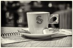 """A cup of coffee always makes my day - At the """"Struin"""" near the beach.  NL-Camperduin Noord-Holland  Taken with  Canon EOS 80D and 17-70mm F2.8-4 DC MACRO OS HSM 