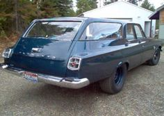 1963 Plymouth beefed up  Belvedere Station Wagon