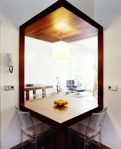 Two room table. Not sure if this is the right board for it or not but definitly a very cool idea!