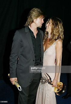 Brad Pitt and Jennifer Aniston *Exclusive* #BradPitt