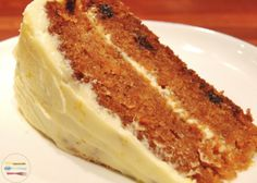 Carrot Cake - I have to make this one for my grandson, Rik! Carrot cake is his favorite...